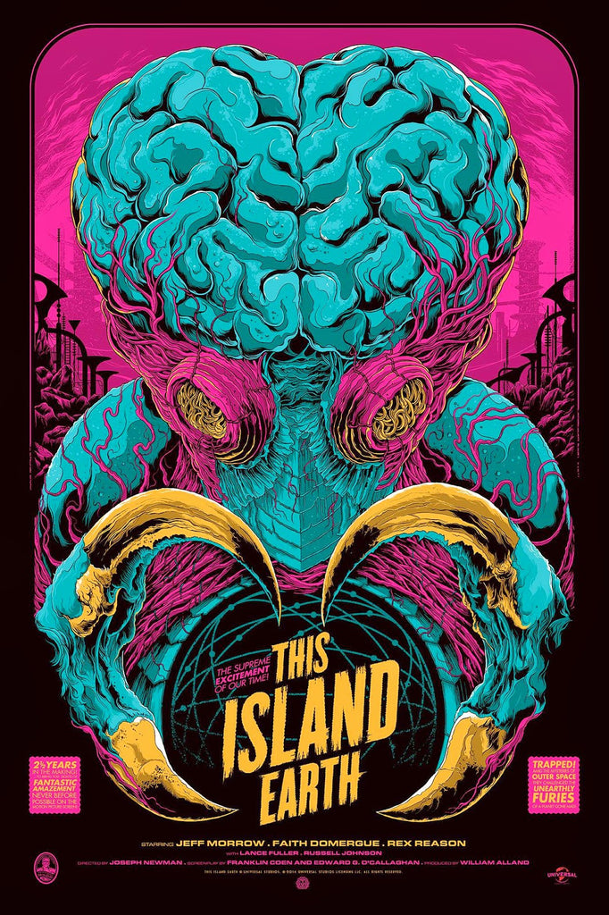 This Island Earth (Variant) Poster by Ken Taylor