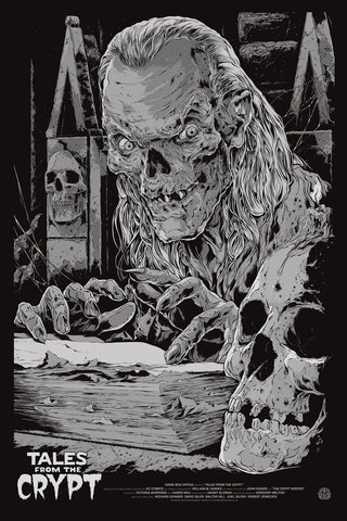 Tales from the Crypt (Variant) Poster by Ken Taylor