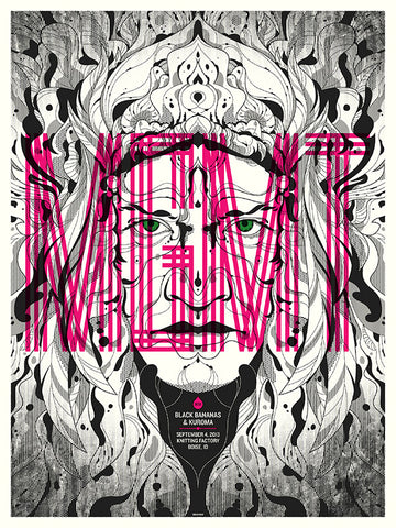 MGMT Concert Poster by Delicious Design League