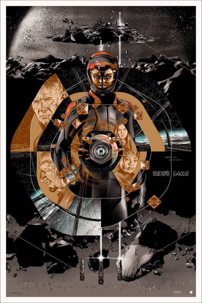 Ender's Game (Variant) Poster by Martin Ansin