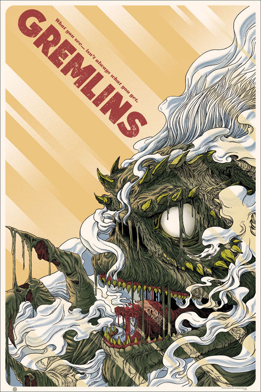 Gremlins Poster by Randy Ortiz