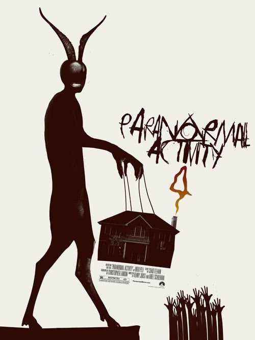 Paranormal Activity 4 (Alternate) Poster by Jay Shaw