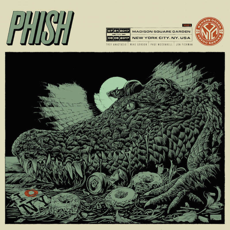 Phish MSG Poster by Ken Taylor