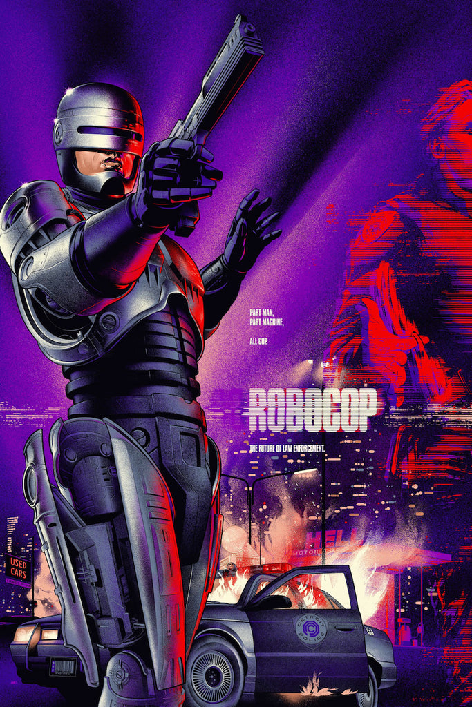 Robocop Poster by Martin Ansin