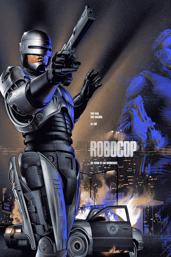 Robocop (Variant) Poster by Martin Ansin