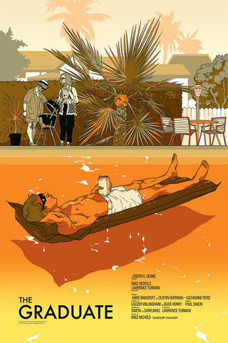 The Graduate Poster by Tomer Hanuka  (Variant)