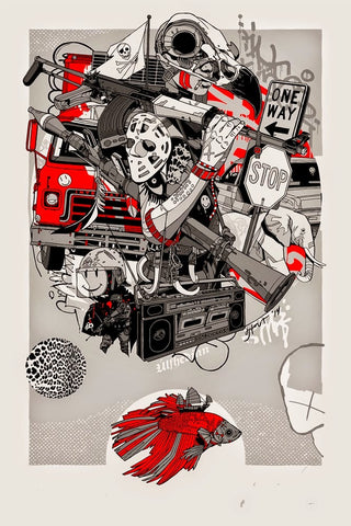"""Ulfhedinn"" Art Print by Tyler Stout"