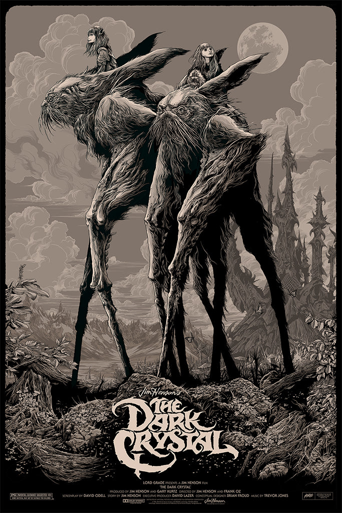 The Dark Crystal Poster by Ken Taylor
