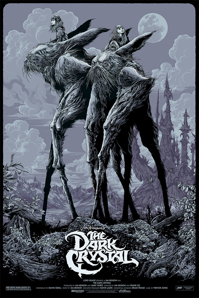 The Dark Crystal (Variant) Poster by Ken Taylor