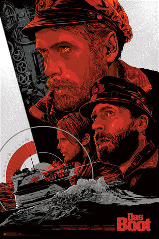 Das Boot Poster by Ken Taylor