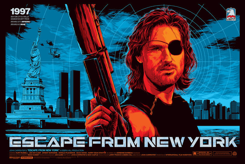Escape from New York Movie Poster by Ken Taylor  (Variant)