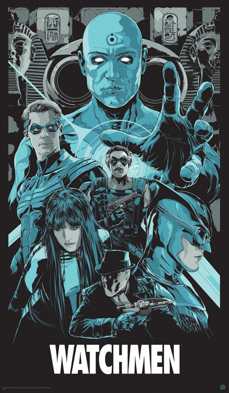 The Watchmen Movie Poster by Ken Taylor