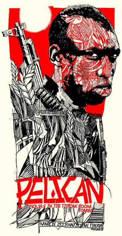 Pelican Poster by Tyler Stout