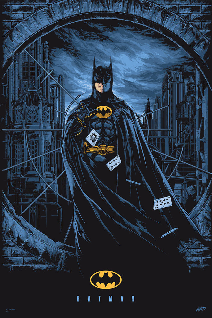 Batman Poster by Ken Taylor