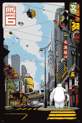 Big Hero 6 Poster by Ken Taylor
