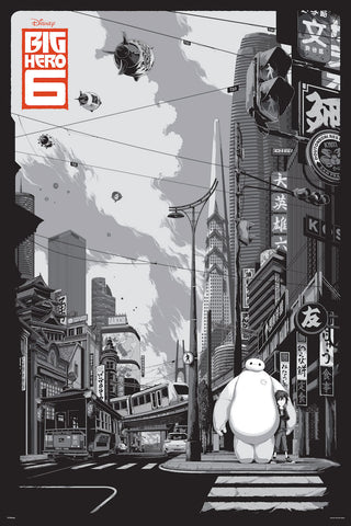 Big Hero 6 (Variant) Poster by Ken Taylor