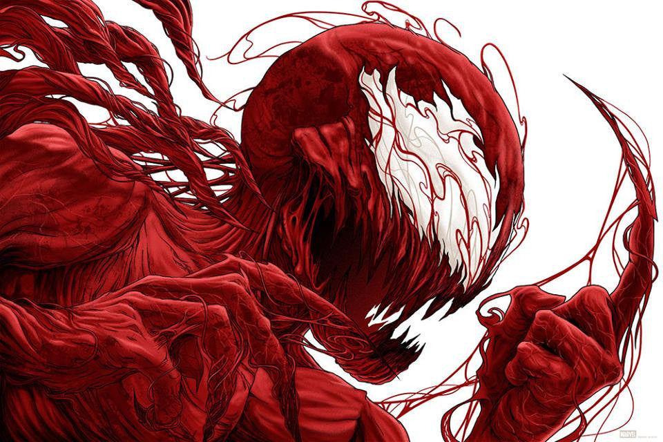 Carnage Poster by Randy Ortiz