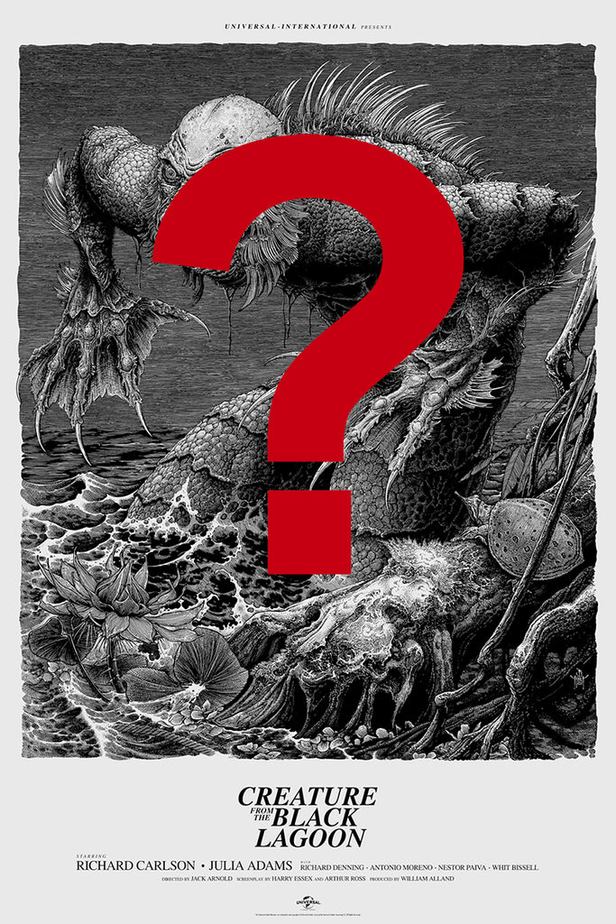 Creature from the Black Lagoon Poster (Remarque) by Brandon Holt