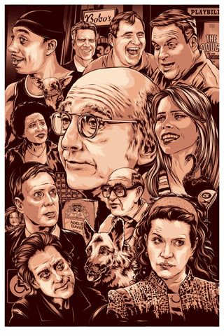 Curb Your Enthusiasm Poster by Ken Taylor