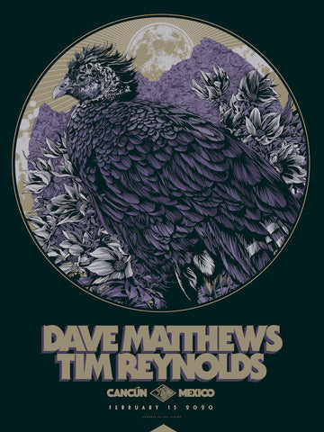 Dave Matthews and Tim Reynolds Poster by Ken Taylor