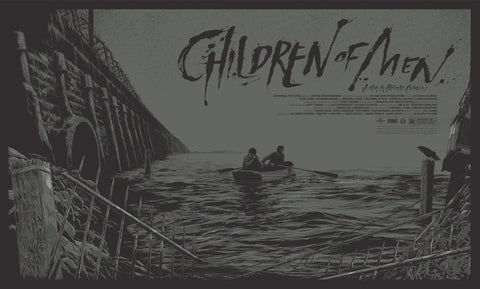 Children of Men Poster by Ken Taylor