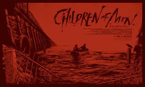 Children of Men (Variant) Poster by Ken Taylor