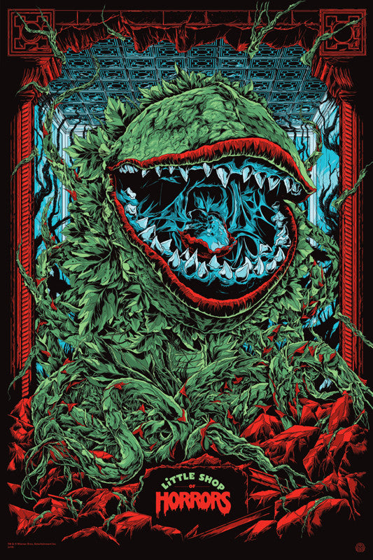 Little Shop of Horrors (Variant) Poster by Ken Taylor