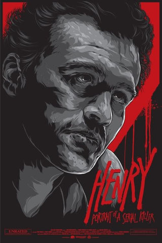 Henry: Portrait of a Serial Killer Poster by Ken Taylor