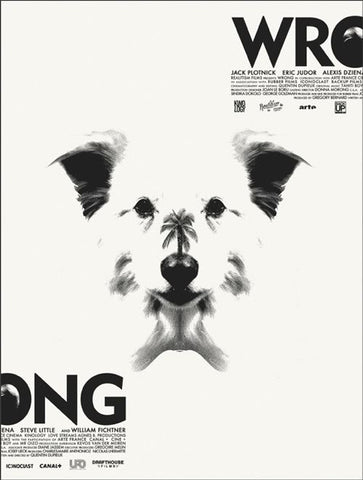 """Wrong"" Poster by Jay Shaw"