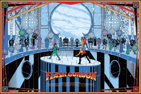 Flash Gordon Poster by Kilian Eng