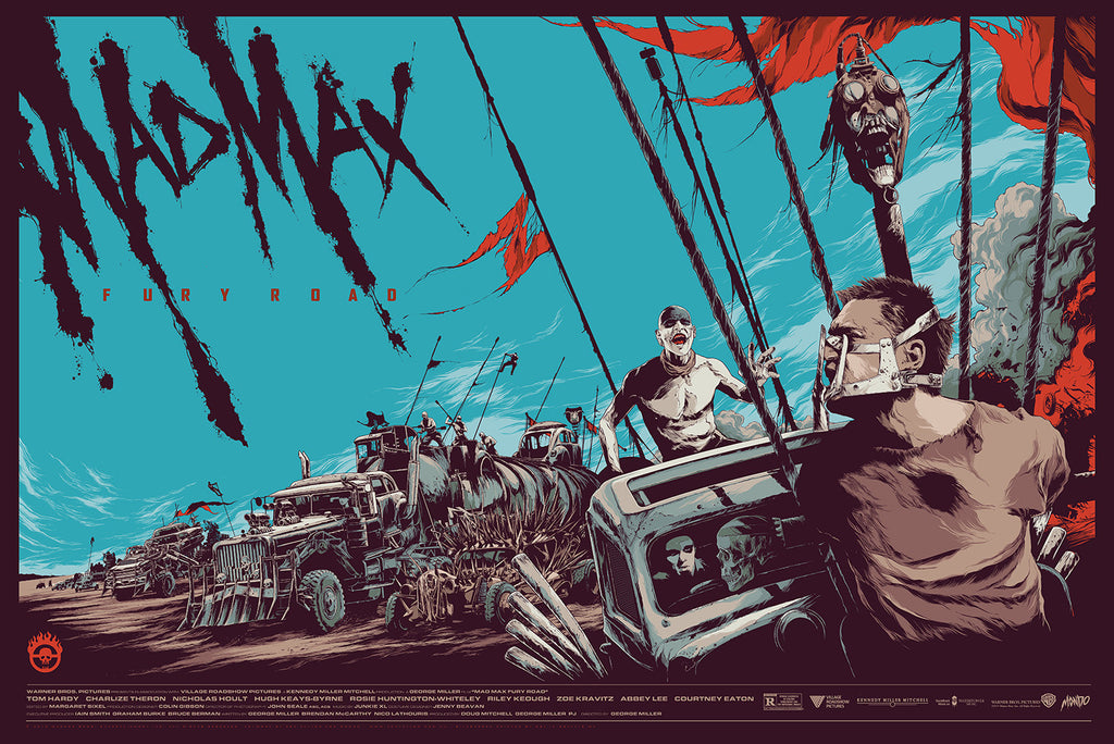 Mad Max: Fury Road Poster by Ken Taylor