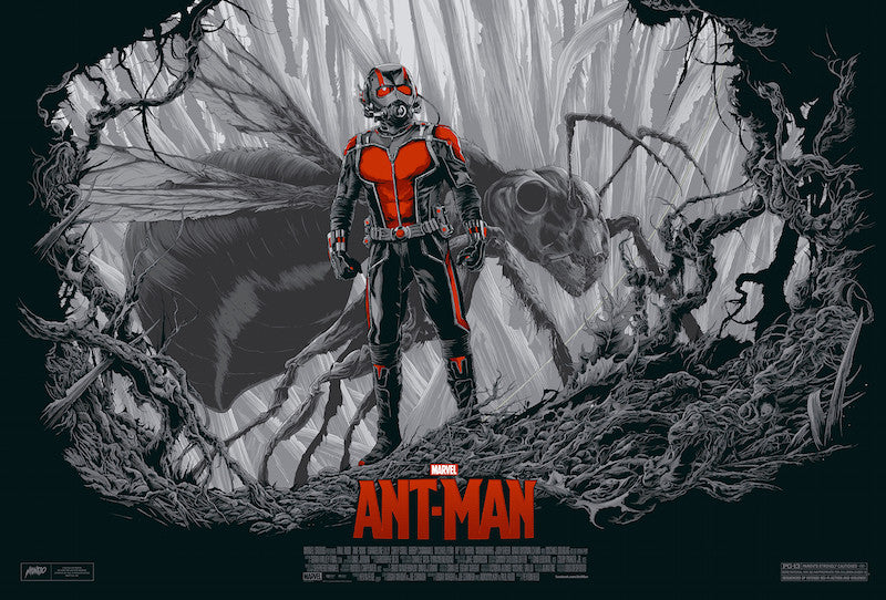 Ant-Man Poster by Ken Taylor (Variant)
