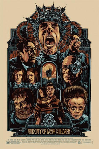 The City of Lost Children Movie Poster by Ken Taylor