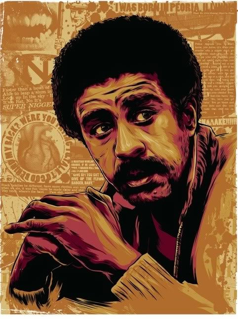 Richard Pryor Art Print by Ken Taylor