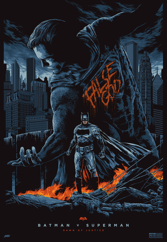 Batman v Superman: Dawn of Justice Poster by Ken Taylor