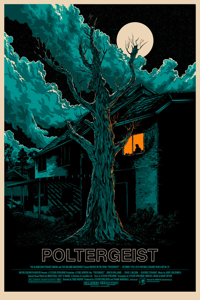 Poltergeist Movie Poster by Ken Taylor