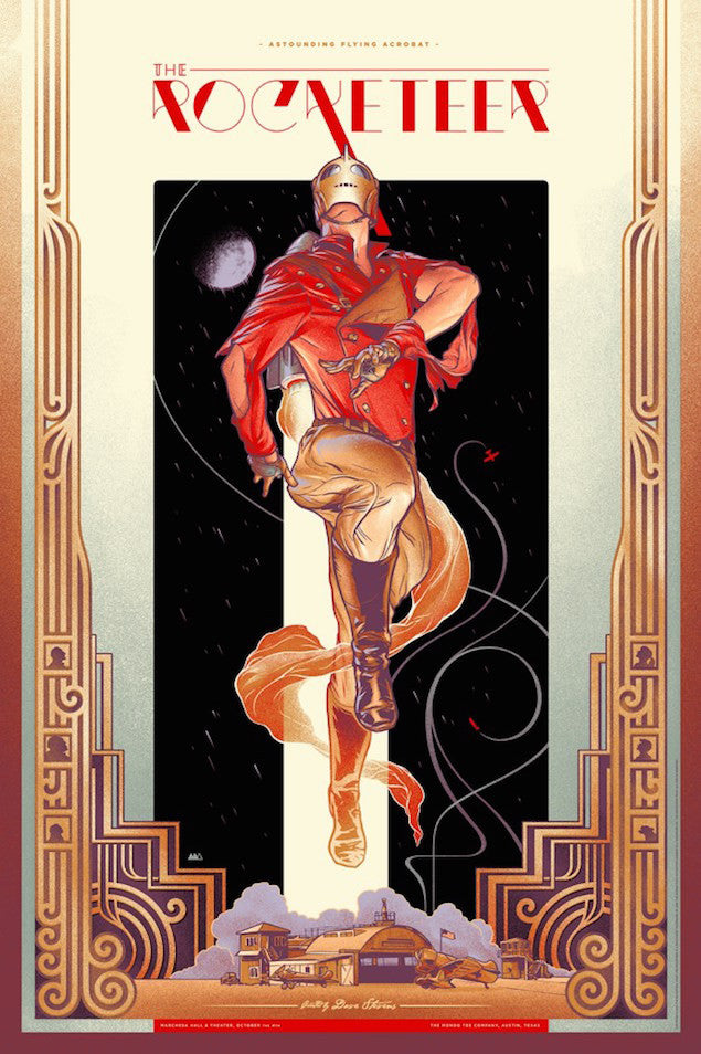 The Rocketeer Poster by Martin Ansin
