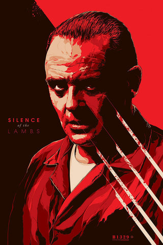 The Silence of the Lambs Movie Poster by Ken Taylor