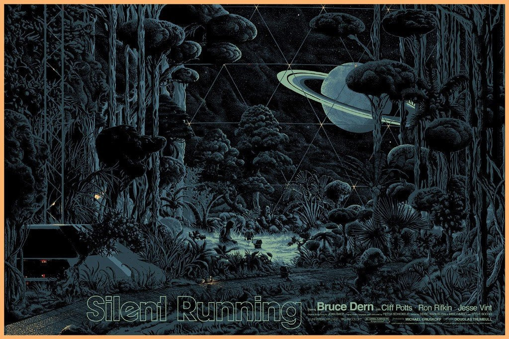 Silent Running Poster by Kilian Eng