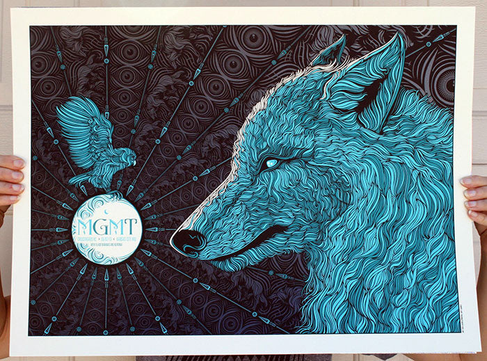 MGMT Concert Poster by Todd Slater