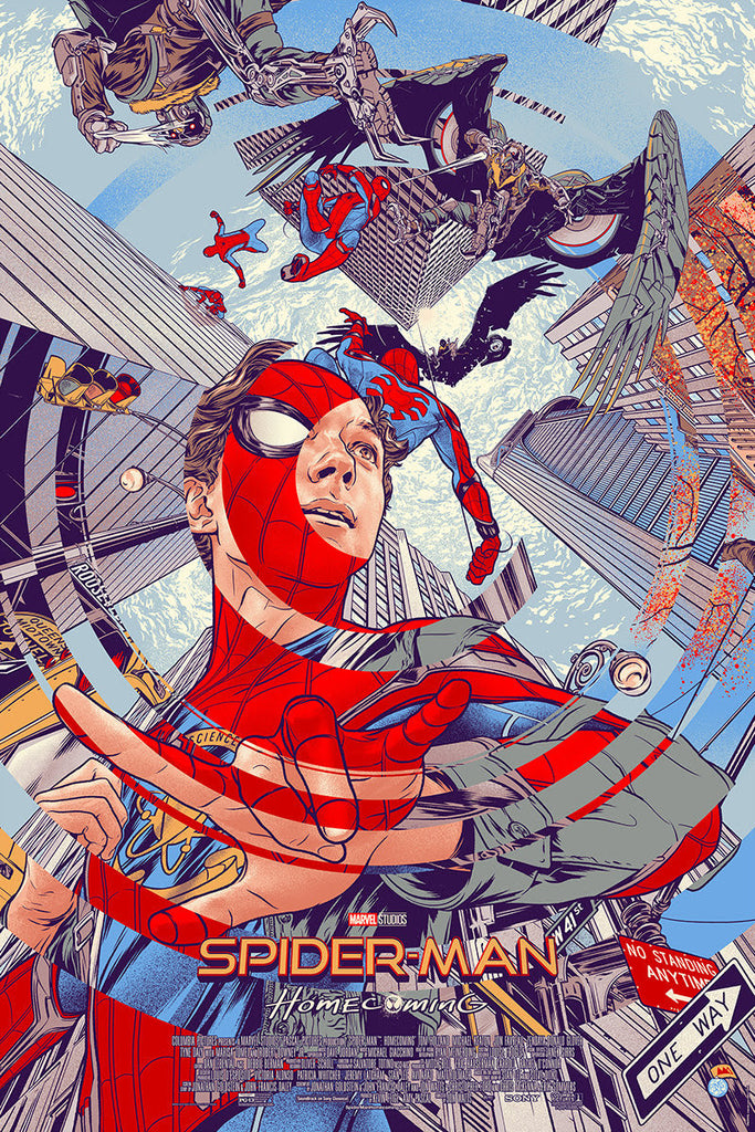 Spider-Man Homecoming Movie Poster by Martin Ansin