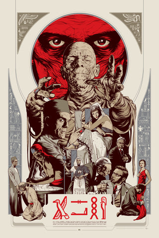 The Mummy (Variant) Poster by Martin Ansin