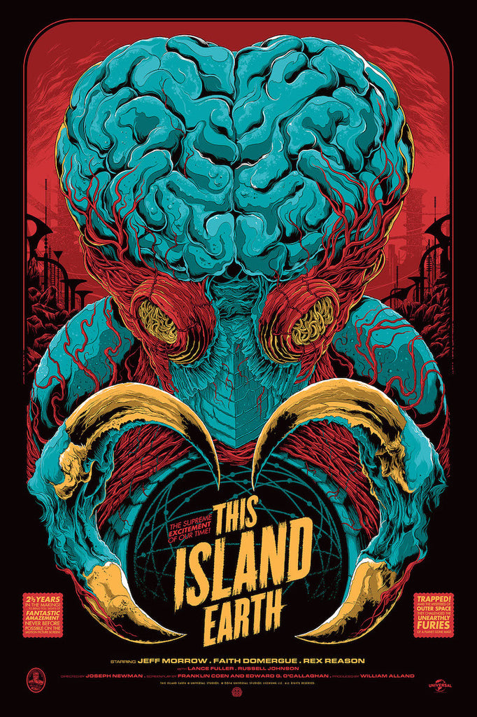This Island Earth Poster by Ken Taylor