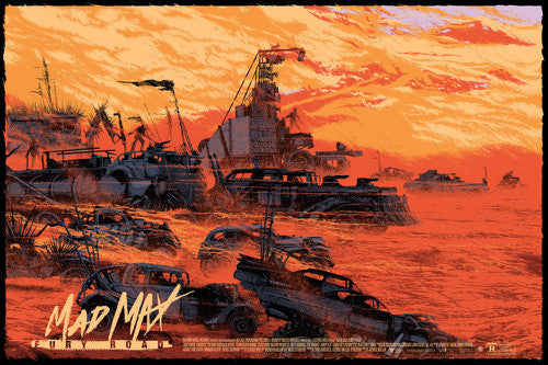 Mad Max: Fury Road Poster by Kilian Eng