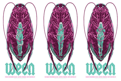 Ween Three-Poster-Set by Ken Taylor