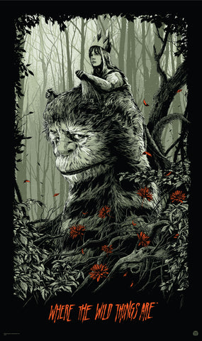 Where the Wild Things Are Movie Poster by Ken Taylor
