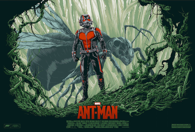 Ant-Man Poster by Ken Taylor