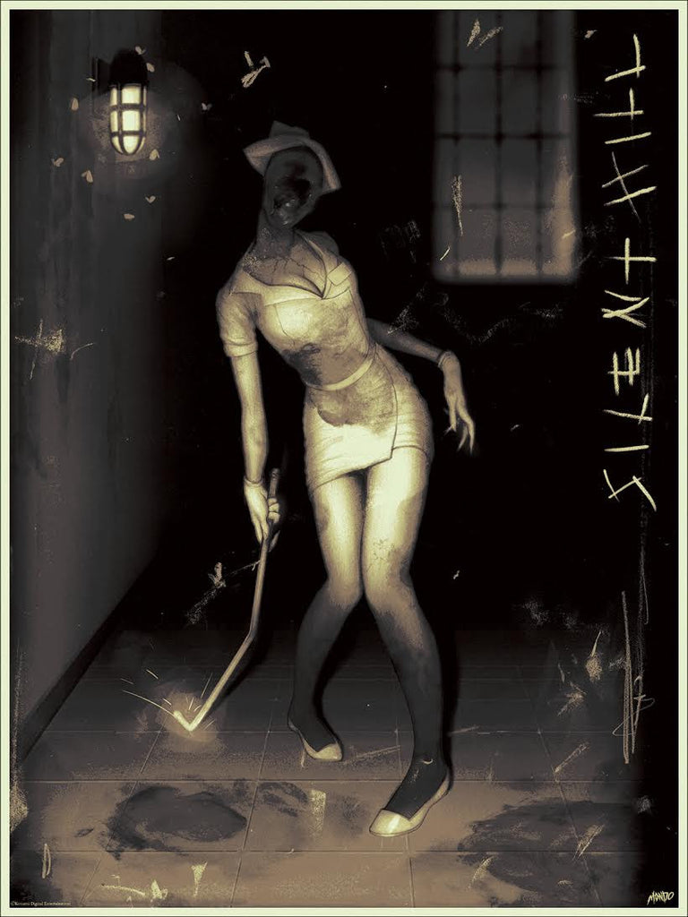 Silent Hill Poster by Sam Wolfe Connelly