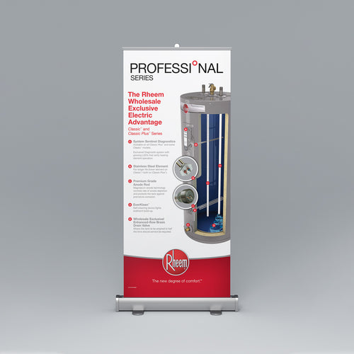 Classic™ & Classic Plus™ Series Roll-Up Banner