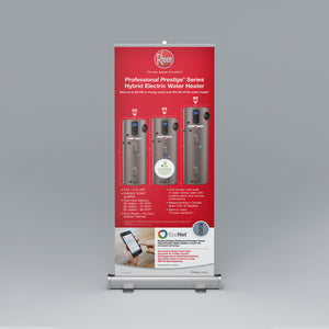 Performance Platinum™ Series Hybrid Electric Roll-Up Banner